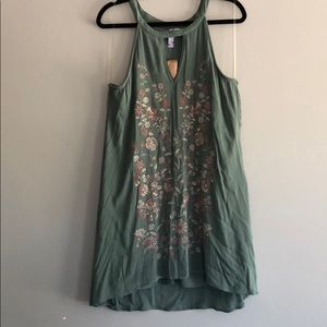 Embroidered Shift Dress from Francesca's